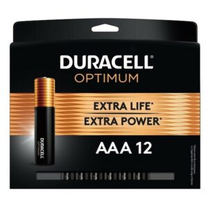 DURACELL BATTERY OPTIMUM AAA-12